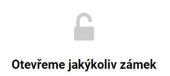 Otevírání zámků - zámečnictví Plzeň
