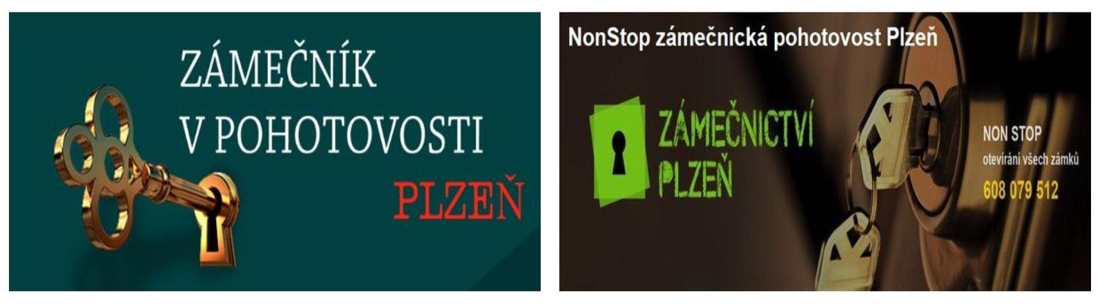 Zámečnictví – info – Plzeň – služby zámečnictví NonStop. Non Stop zámečnictví v Plzni.