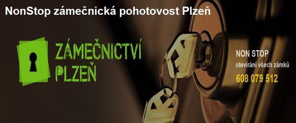 Zámečnictví Plzeň - otevřeme každý zámek, u auta, bytu, i trezoru v Plzni.